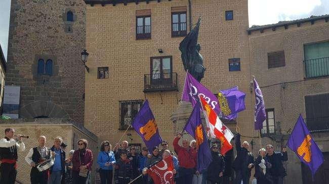 Homenaje Juan Bravo y los Comuneros Castellanos en Segovia