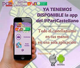 Ya tenemos disponible la app del Partido Castellano, para iOS y Android
