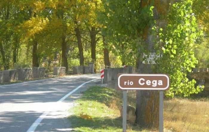 Cartel Río Cega