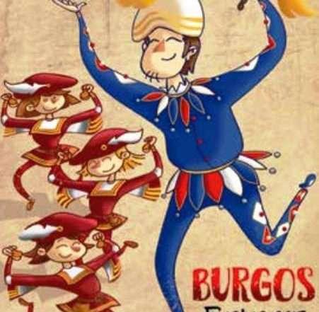 Cartel de las fiestas Mayores de Burgos 2017