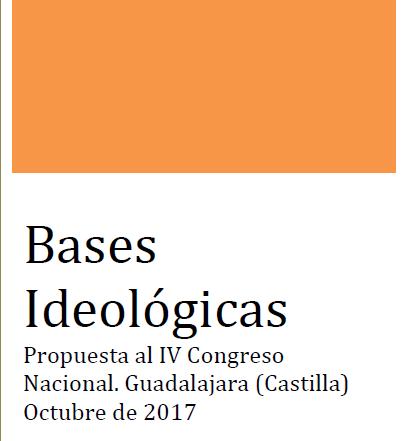 Propuesta de bases ideológicas al IV Congreso Nacional del Partido Castellano