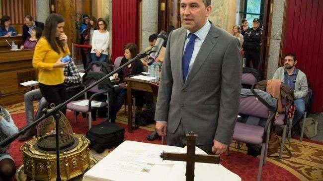 Jose Antonio Antón, concejal de Participación Ciudadana en el Ayuntamiento de Burgos