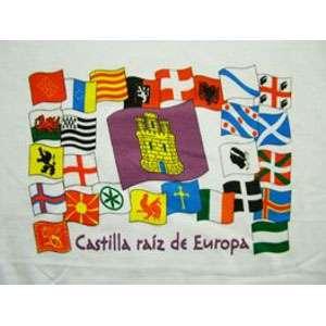 """Camiseta """"Castilla raíz de Europa"""""""