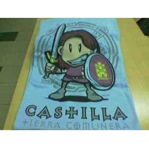 """Camiseta con dibujo de soldado castellano """"Castilla, tierra comunera"""""""