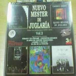 """CD triple """"Nuevo Mester de Juglaría 2"""""""