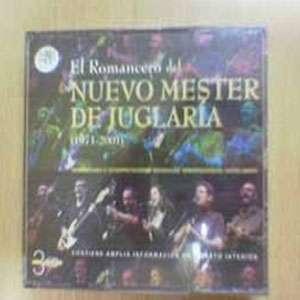 """CD triple """"El romancero del Nuevo Mester de Juglaría 3"""""""
