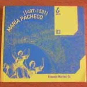 "Libro de Fernando Martínez Gil ""María Pacheco"""