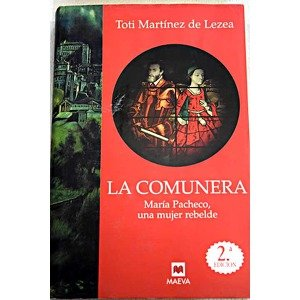 "Libro de Toti Martínez de Lezea ""La Comunera"""