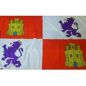 Pendón cuartelado, bandera de Castilla y León