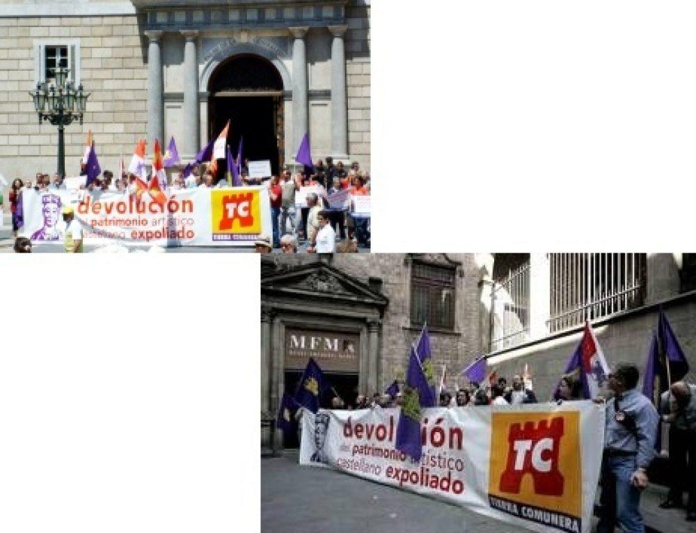 El PARTIDO CASTELLANO (PCAS) urge a la Junta de Castilla y León a que inicie los trámites para recuperar el Patrimonio Artístico Castellano depositado en museos de Cataluña.