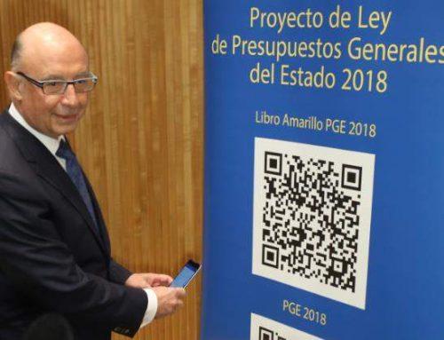 El PARTIDO CASTELLANO (PCAS) presenta 30 enmiendas a los PGE'18 para mejorar inversiones, infraestructuras, economía y empleo en Burgos por 315 millones.