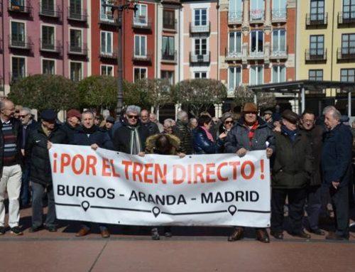 Tren directo ¡YA! Burgos- Madrid por Aranda