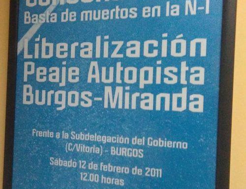 El PARTIDO CASTELLANO- TIERRA COMUNERA (PCAS-TC)  propone diferentes medidas para atajar el incremento de la mortalidad por accidentes de tráfico en la provincia de Burgos
