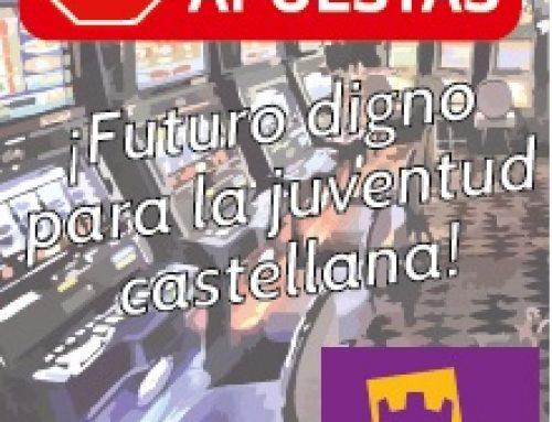 PARTIDO CASTELLANO – TIERRA COMUNERA (PCAS-TC), se suma a la ola de preocupación contra la plaga de casas de apuestas en Madrid
