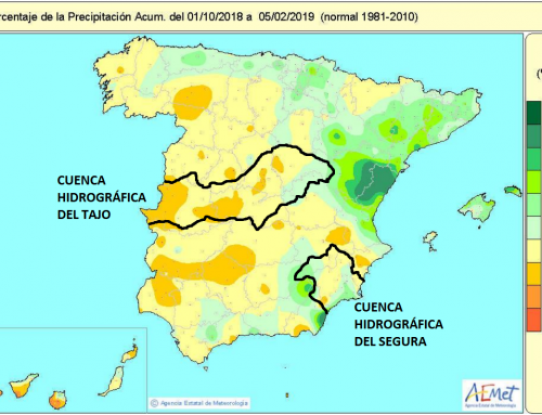El Partido Castellano-Tierra Comunera (PCAS-TC) denuncia la explotación indiscriminada del Trasvase Tajo-Segura