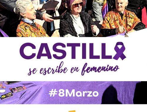 El PARTIDO CASTELLANO-TIERRA COMUNERA (PCAS-TC) llama a mujeres y hombres a celebrar un 8 de Marzo reivindicativo