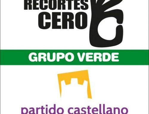 La coalición  RECORTES CERO-GRUPO VERDE- PARTIDO CASTELLANO-TIERRA COMUNERA, presenta sus listas por Burgos a las próximas elecciones generales.