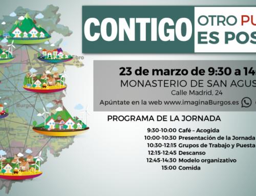 Jornada Provincial en Burgos: contigo otro pueblo es posible