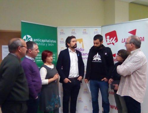 PCAS-TC e IU presentan su confluencia en Castilla y León