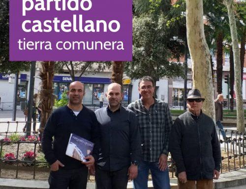 El Partido Castellano-Tierra Comunera (PCAS-TC) presenta sus candidaturas autonómicas y municipales en Guadalajara