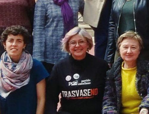 Marina Llópiz, candidata de Recortes Cero-Grupo Verde-Partido Castellano-Tierra Comunera al Congreso por Toledo