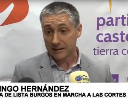 Domingo Hernández, Presidente de PCAS-TC en Burgos, encabeza la candidatura de Castilla y León en Marcha para las elecciones autonómicas