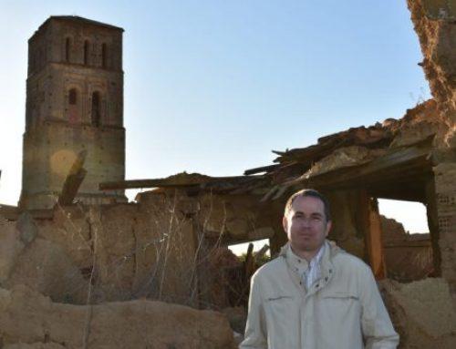 Compromiso por Europa abre su campaña en Castilla con un acto denuncia en un pueblo deshabitado