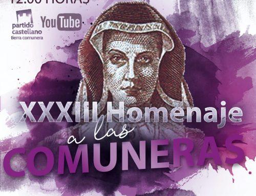 El Homenaje a los Comuneros toledanos del PARTIDO CASTELLANO-TIERRA COMUNERA (PCAS-TC), este año será virtual