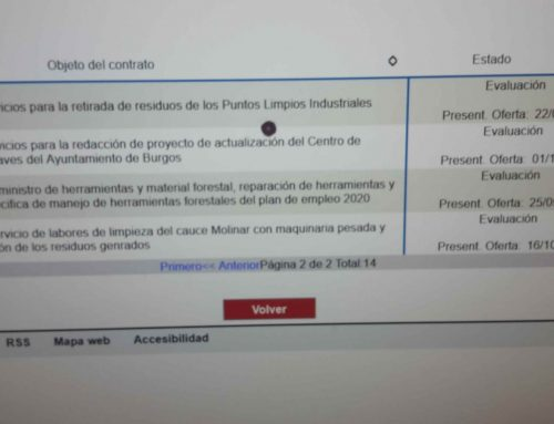 El PARTIDO CASTELLANO- TIERRA COMUNERA (PCAS-TC) lamenta la falta de transparencia del Ayuntamiento de Burgos de PSOE y C´s
